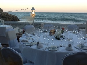 balcon de europa hotel beach wedding