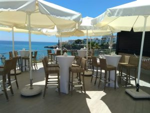 hotel venues nerja wedding cochrans terrace