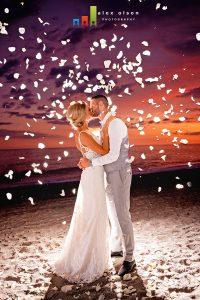 nerja weddings confetti beach wedding