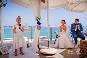 nerja weddings seaview ceremony