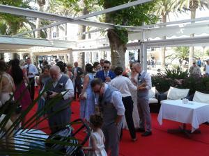 Hotel Balcon de Europa drinks reception 9