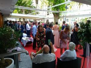 Hotel Balcon de Europa drinks reception 6