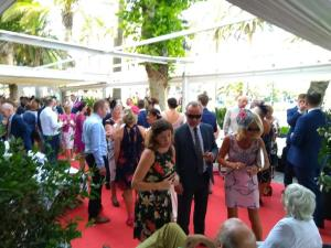Hotel Balcon de Europa drinks reception 7