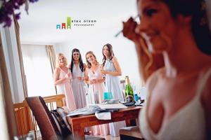 nerja wedding spain hair and make up