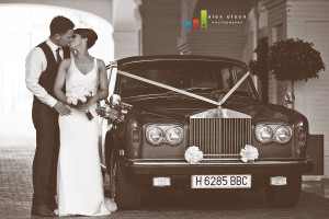 rolls royce wedding day transport