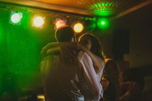 baile novios en disco