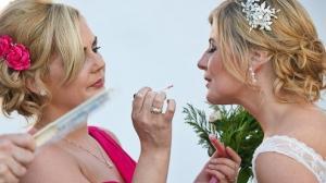 bride and make-up