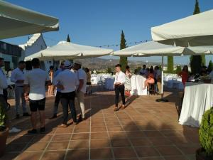 Cortijo Bravo drinks reception 8