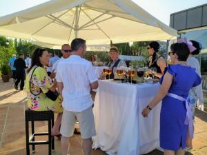 Cortijo Bravo drinks reception 6