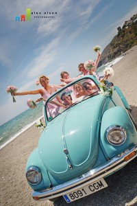 beetle 1 wedding day transport